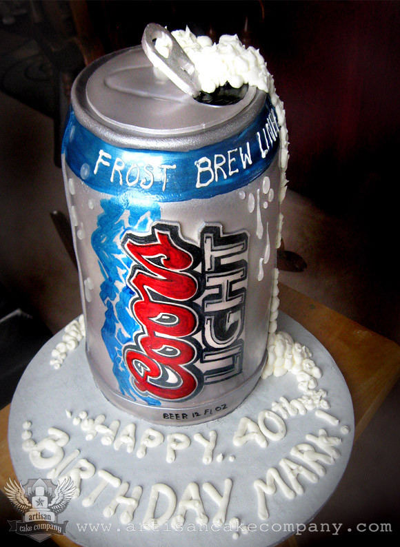 beer wedding cake topper beercan cake2 artisancakecompany flickr 11259