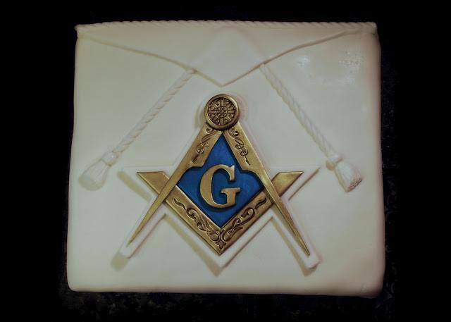 Masonic Birthday Cake