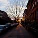 Kent Street at Sunset - Greenpoint, Brooklyn