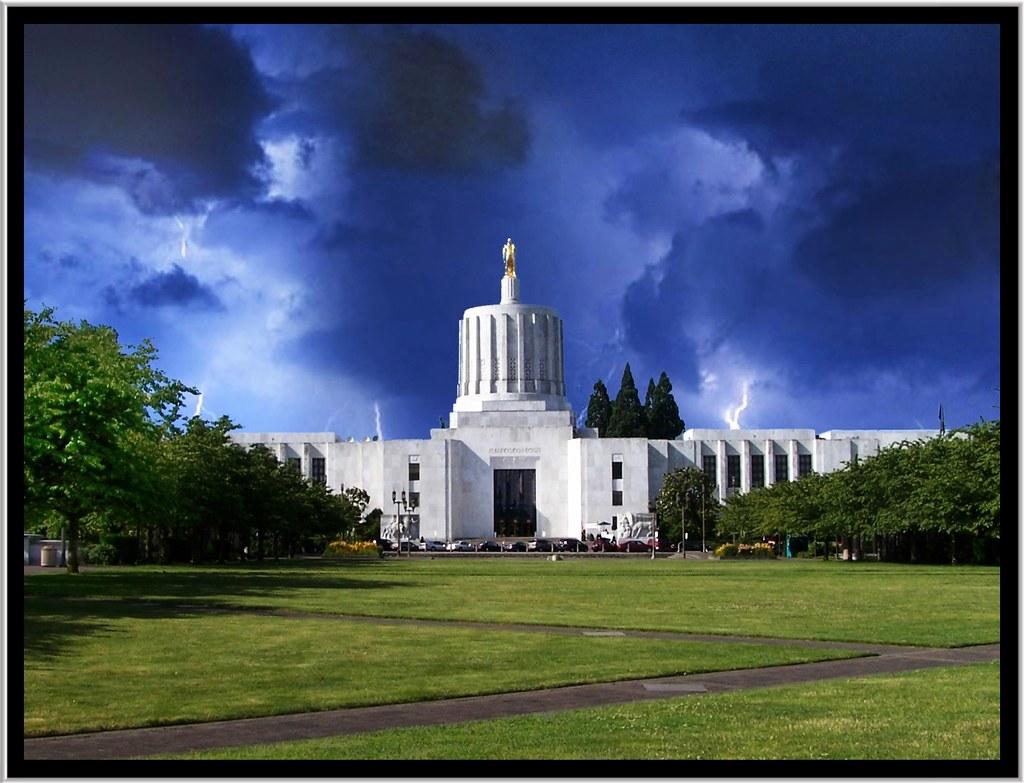 Oregon State Capitol Salem Oregon The Oregon State