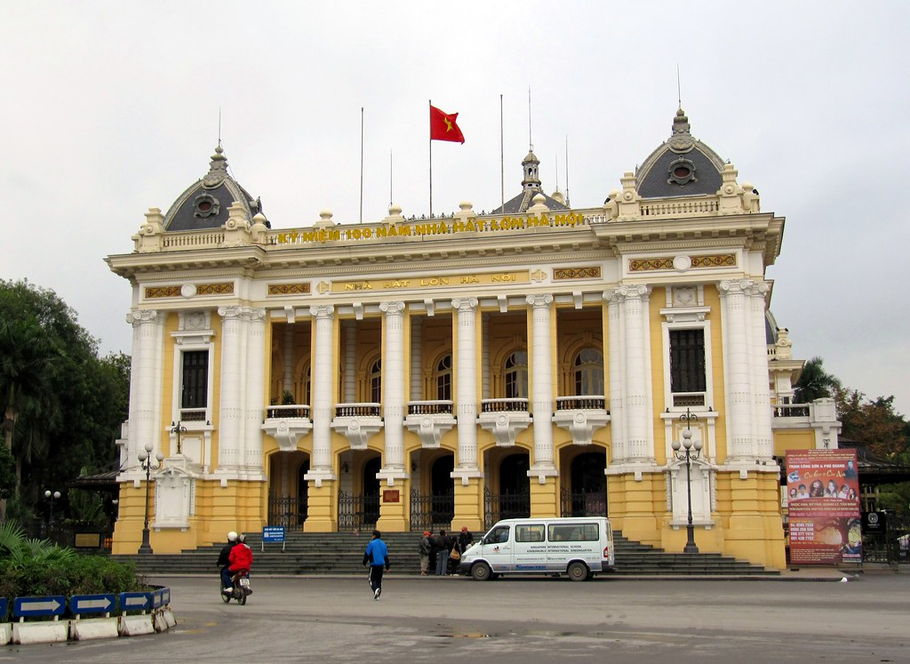 Hanoi Opera House Hanoi Vietnam Hanoi Opera House Is