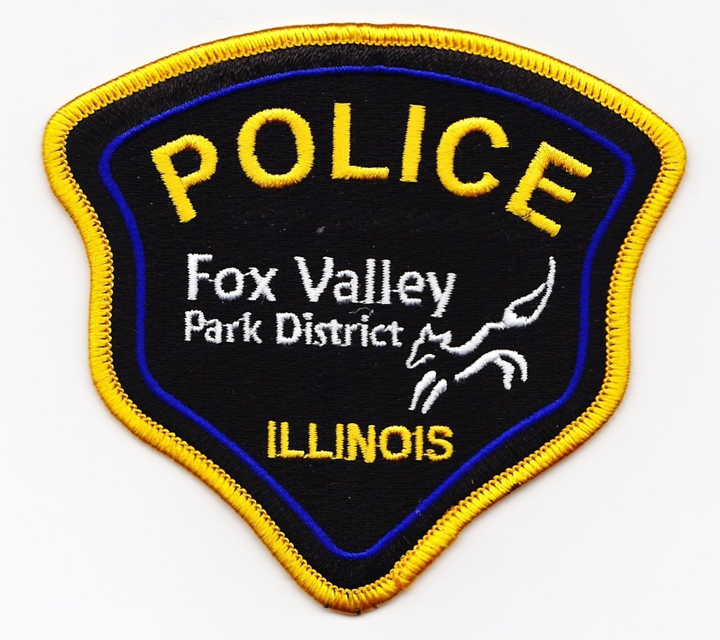 Il Fox Valley Park District Police Department Patch