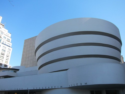 The Solomon Guggenheim Museum, NYC. Nueva York