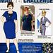 Mad Men Sewing Challenge Sketch: Joan Dress