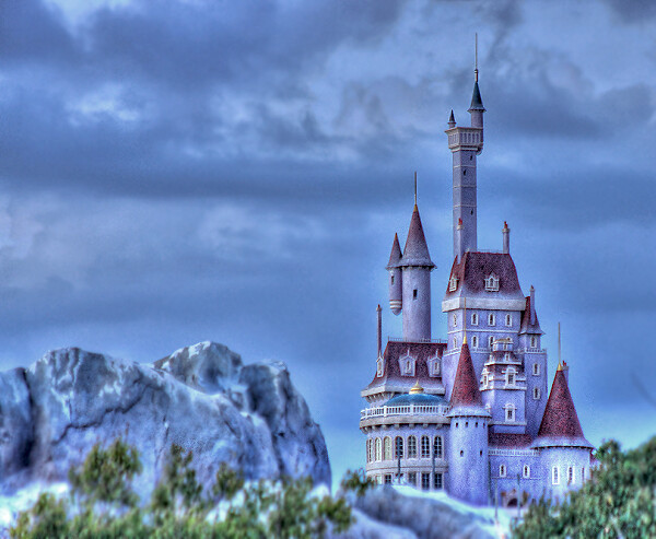 Fantasyland Expansion - Beauty and The Beast Castle | Flickr Beauty And The Beast Castle