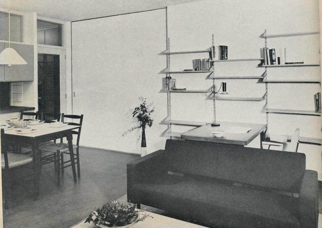 Interieur 1960 woonkamer a pg janwillemsen flickr for Interieur 1960
