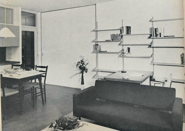 Interieur 1960 woonkamer a pg flickr photo sharing - Interieur woonkamer ...