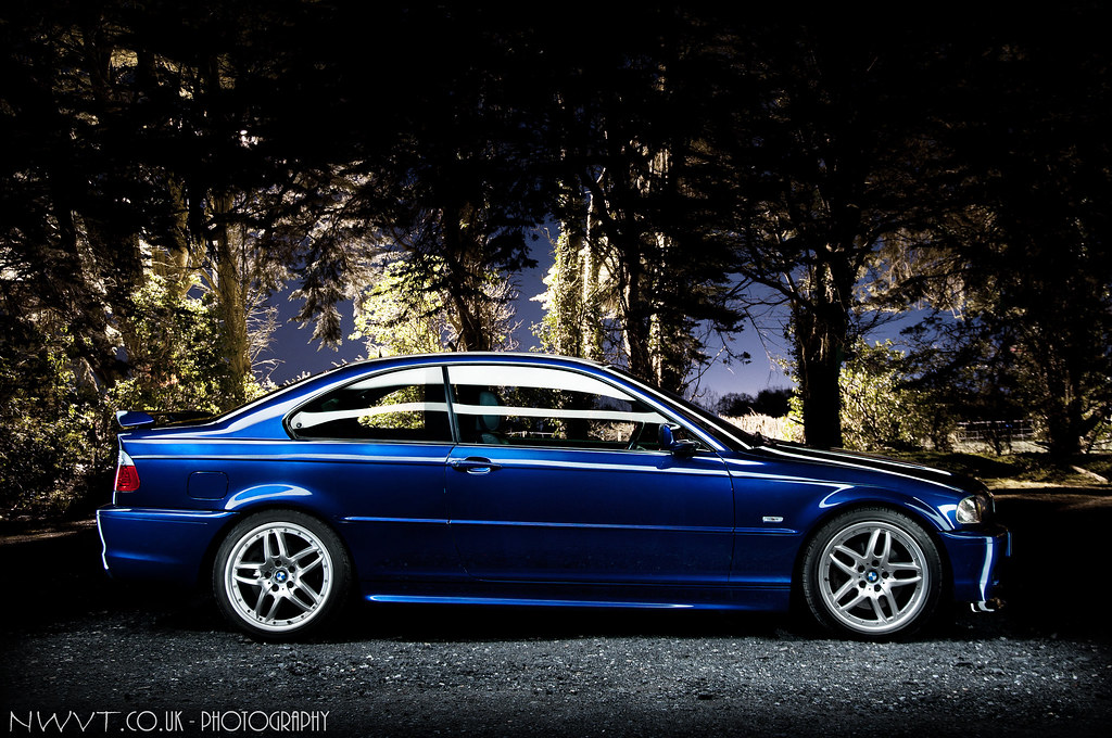 2002 bmw e46 330 ci clubsport in velvet blue light painted flickr. Black Bedroom Furniture Sets. Home Design Ideas