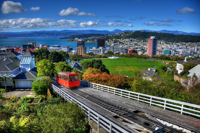 Wellington Cable Car: Wellington Cable Car And City