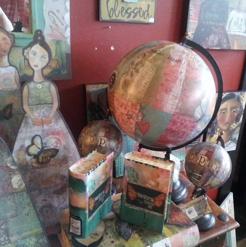 Art Globes & Book Boxes | by Calsidyrose