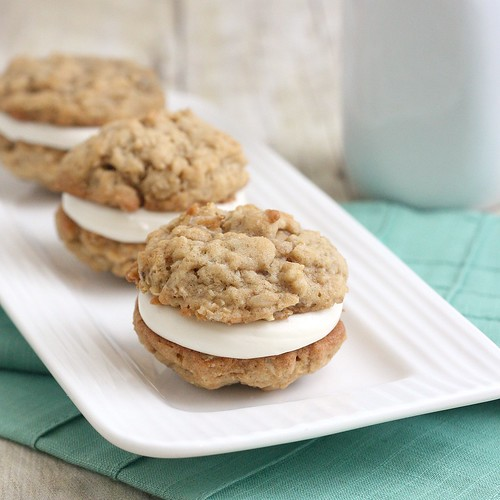 Oatmeal Cream Pies | by Tracey's Culinary Adventures