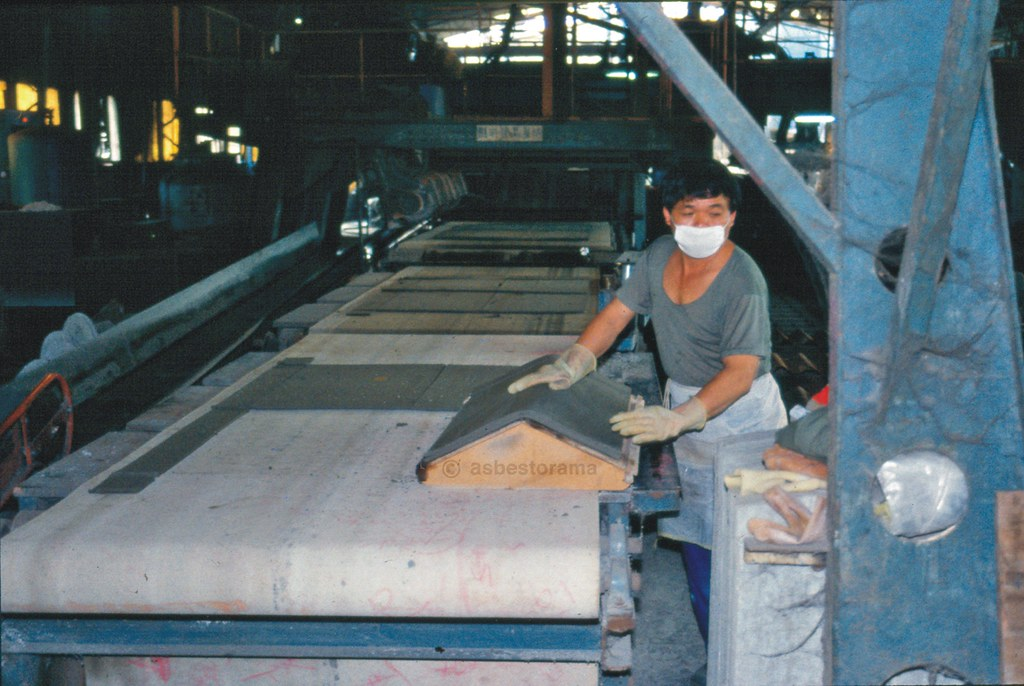 Asbestos Cement Manufacturing Process Image From An