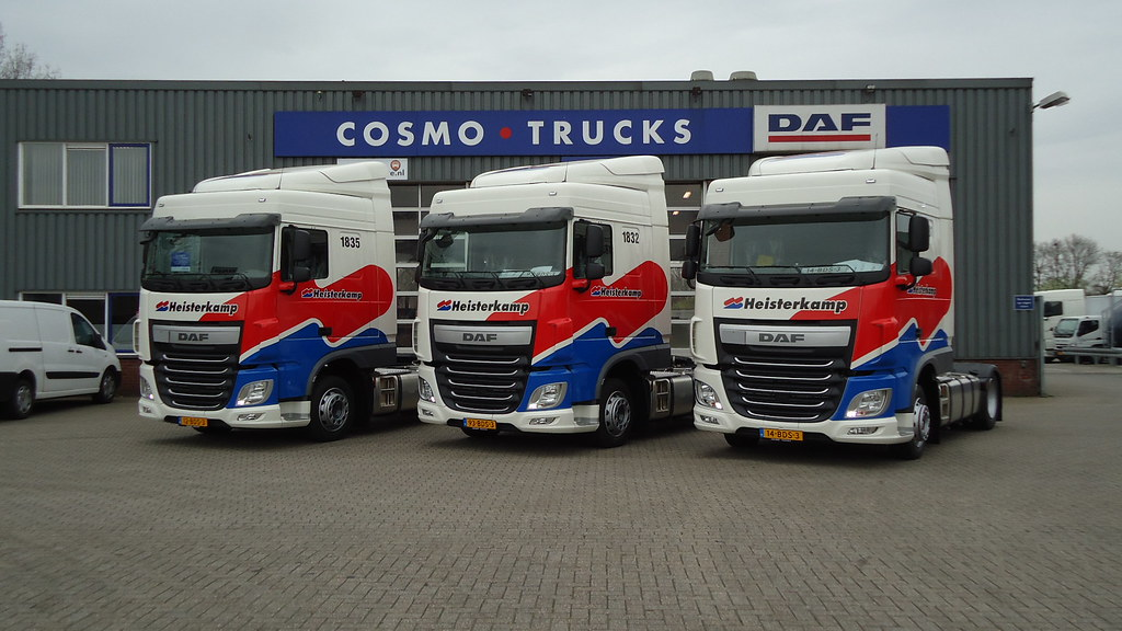 FT (4x2) Space Cab - Heisterkamp transport   DAF Trucks N.V.   Flickr