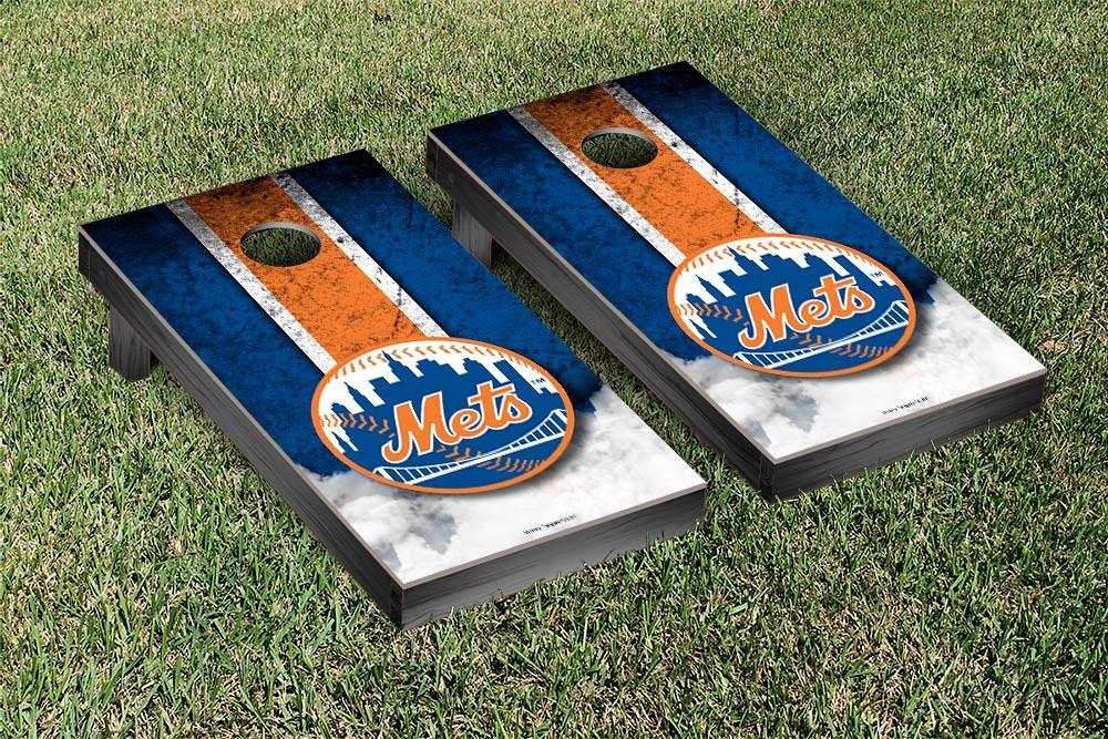 New York Mets Vintage Version Cornhole Board
