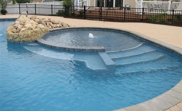 Custom Concrete Swimming Pool By Augusta Aquatics Custom C Flickr