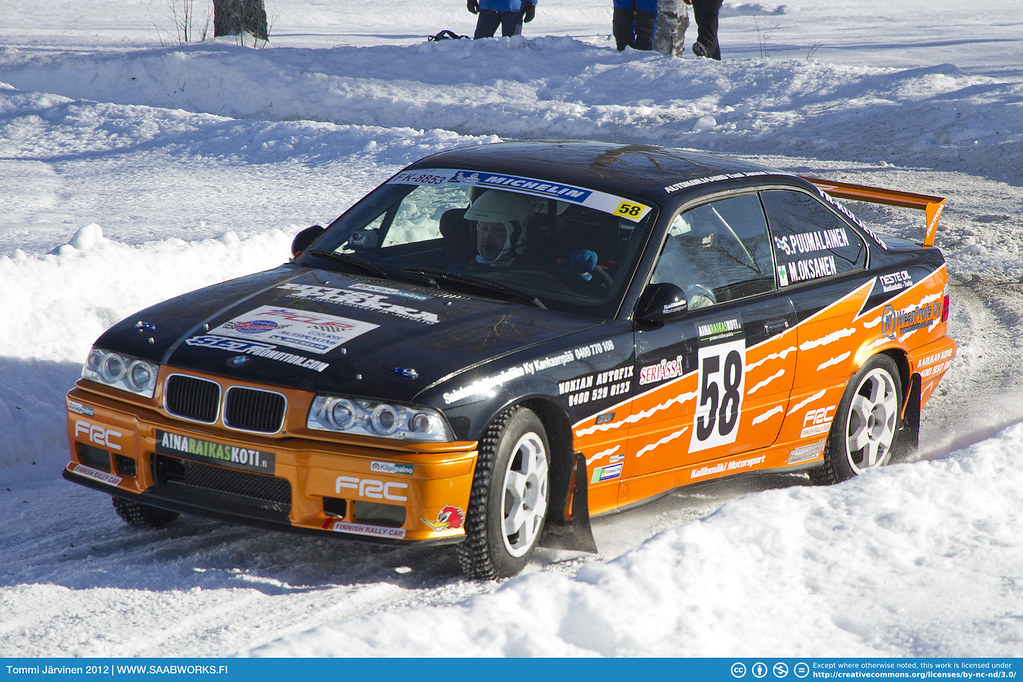 Where Are Bmw From >> 58. Sami Puumalainen / Marko Oksanen - BMW 325 Coupe | Flickr