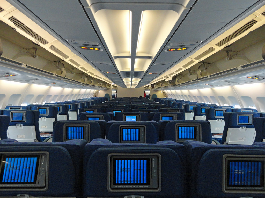 New E Class >> Cathay Pacific Regional Economy Class Cabin | The regional e… | Flickr