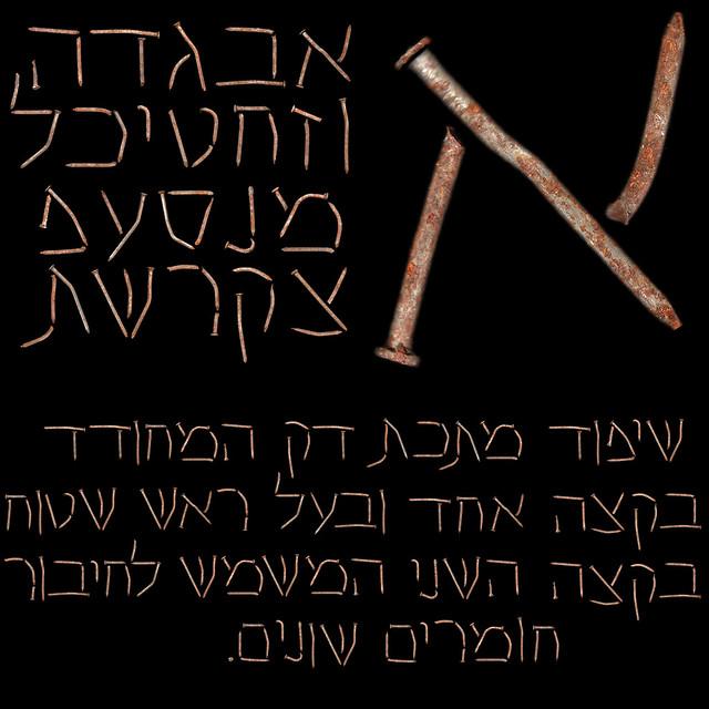 Nail Aleph Bet The Hebrew Alphabet Nails Broken Nails