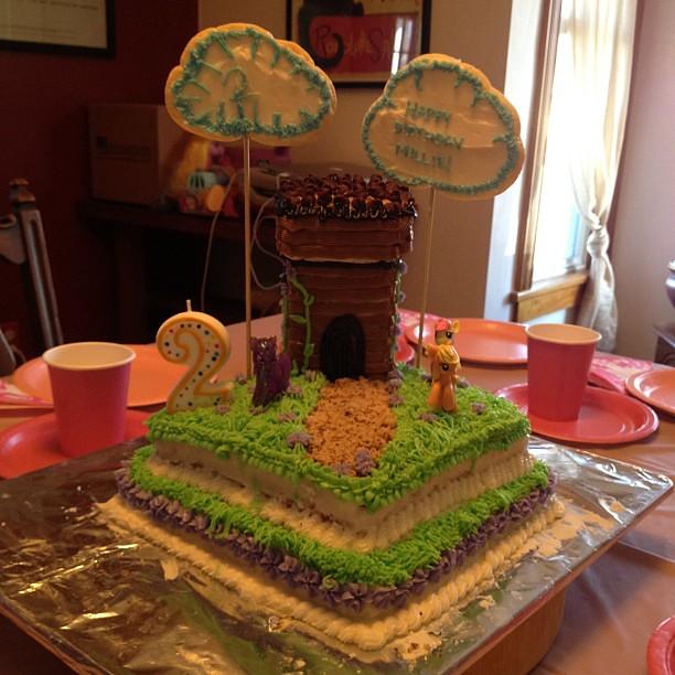 Happy Birthday Millie Cake