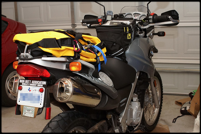 Large Motorcycle Backpack