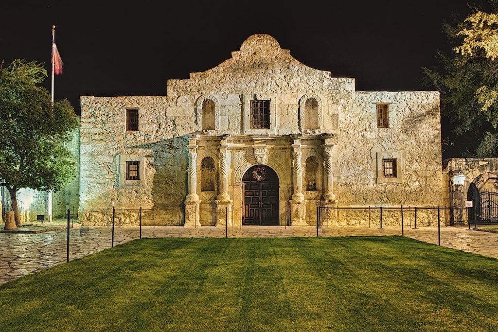 San Antonio Tx The Alamo The Battle Of The Alamo