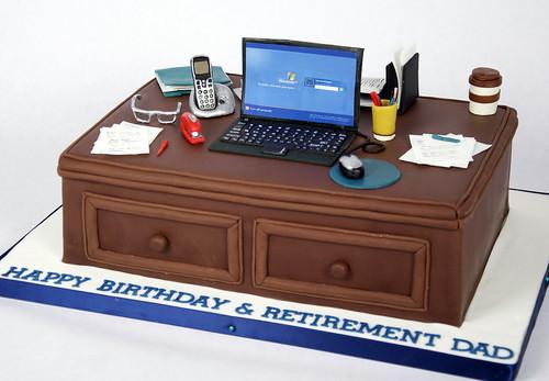 BC4046 - computer desk cake toronto | Flickr - Photo Sharing!