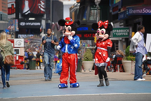 Costumed Characters in Times Square | by NYC♥NYC
