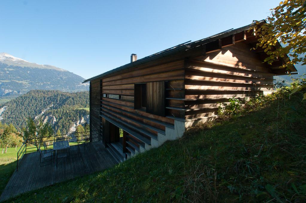 Gugalun House (Haus Truog Gugalun). Versam, Switzerland ...