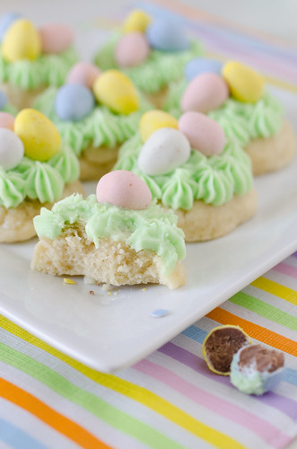 Easter Nest Sugar Cookies 4 | by Seeded at the Table