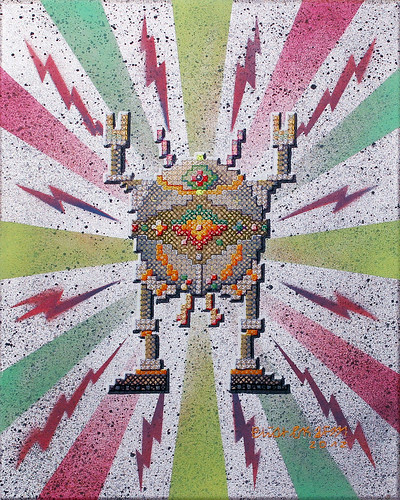 XstitchRobots_08 | by eliot bk