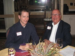 Jason Mork '96 and Larry Schmitt | by University of Minnesota, Morris Alumni Association