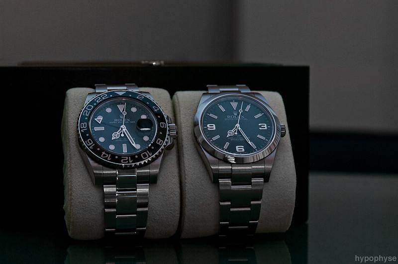 Rolex Gmt 2 >> Rolex GMT-Master II 116710 & Explorer 214270 | Rolex GMT-Mas… | Flickr
