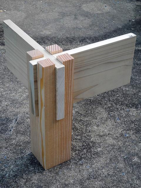 Corner joint flickr photo sharing - Assemblage bois japonais ...