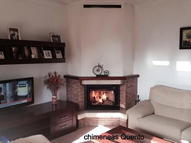 Chimenea quento f 216 con hogar dovre 2175 flickr photo sharing - Chimeneas lugo ...