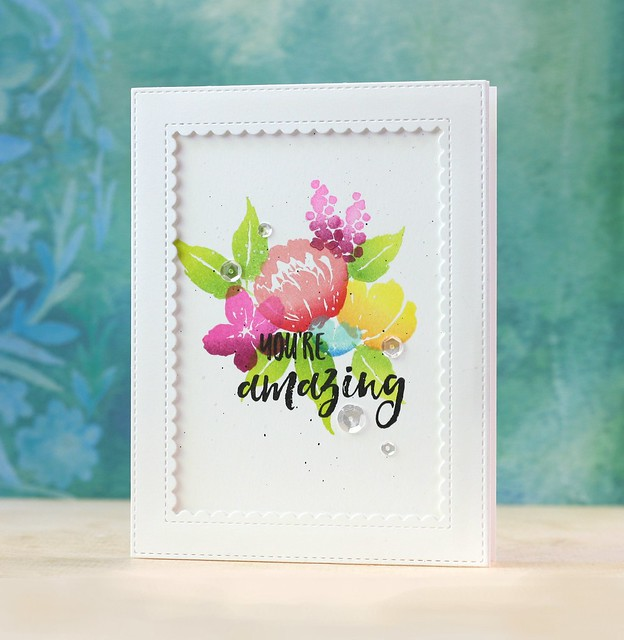 Mama Elephant-Brushed Florals