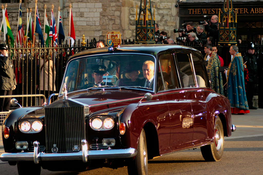 Rolls Royce Silver Jubilee Car Hrh Prince Charles