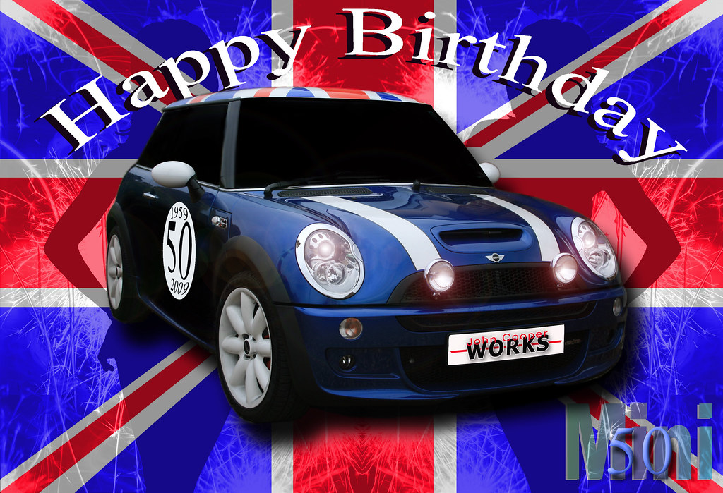Happy Birthday Mini Flag Drawn And Than The Images