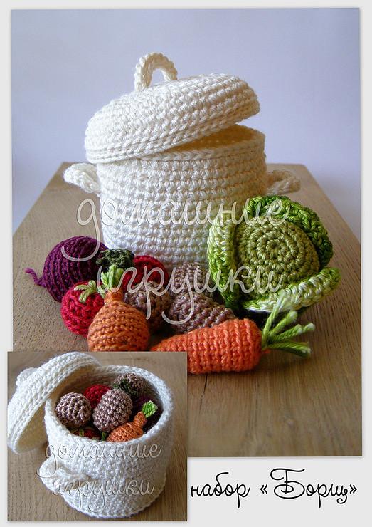 Amigurumi Vegetables : Crochet soup olga flickr