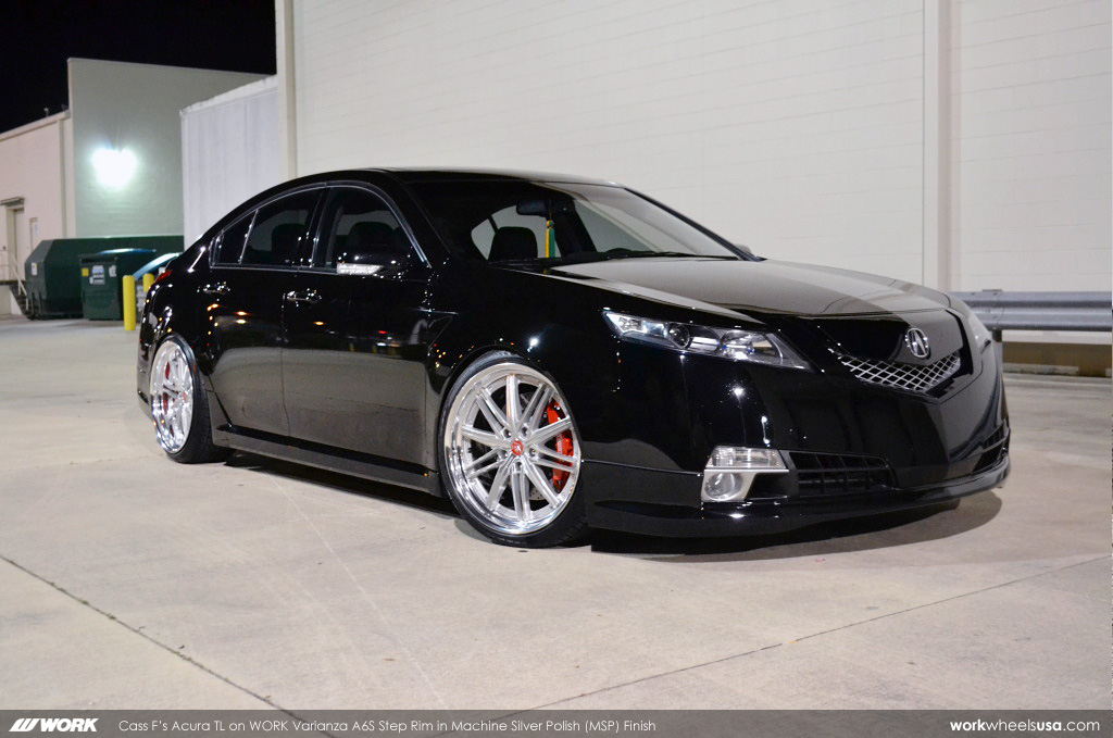 Cass F S Acura Tl On Work Varianza A6s Step Rim Msp Flickr