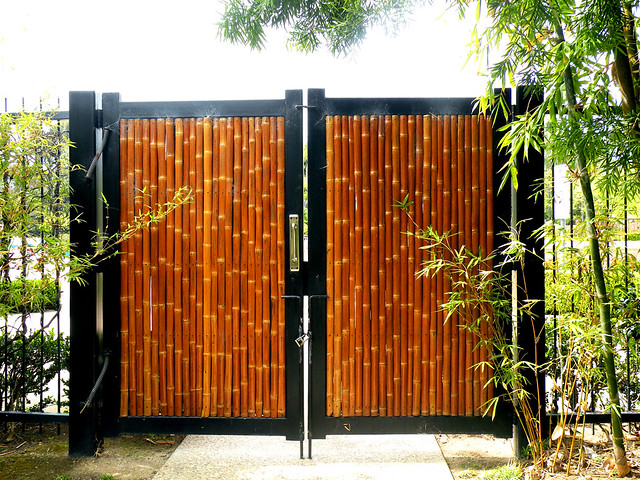 Japanese garden bamboo gate explore buddha bellies for Japanese gates pictures