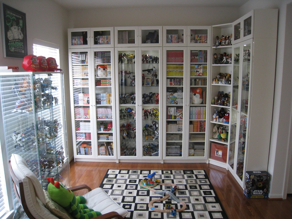 IKEA Billy Bookcases | Here are some updated photos of our ...