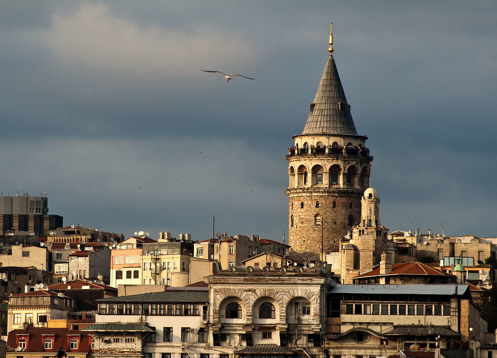 Galata Tower  Simon Brent  Flickr