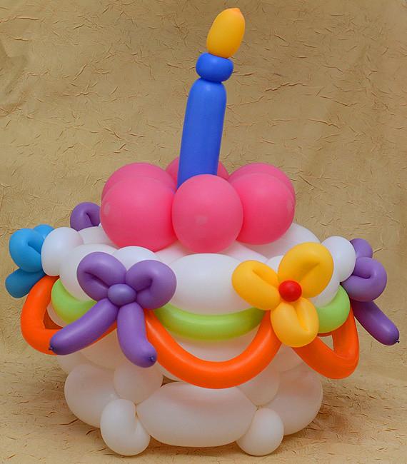 Balloon Birthday Cake amir paz Flickr