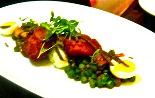 Sweetbreads and dumpling | by jayweston@sbcglobal.net