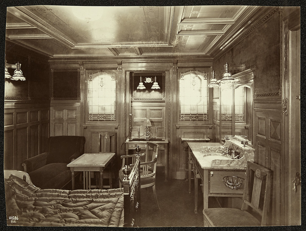 Titanic Interior Creator R Welch Photographer Date