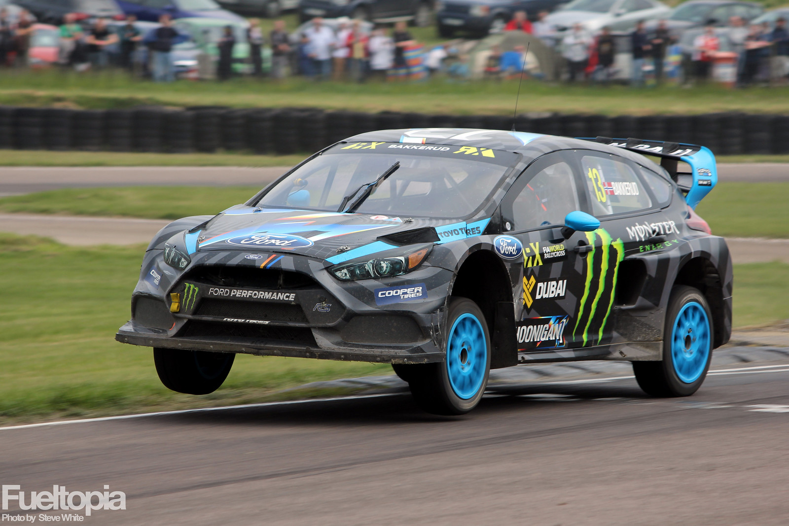 Bakkerud Lydden Hill Chicane Exit Air