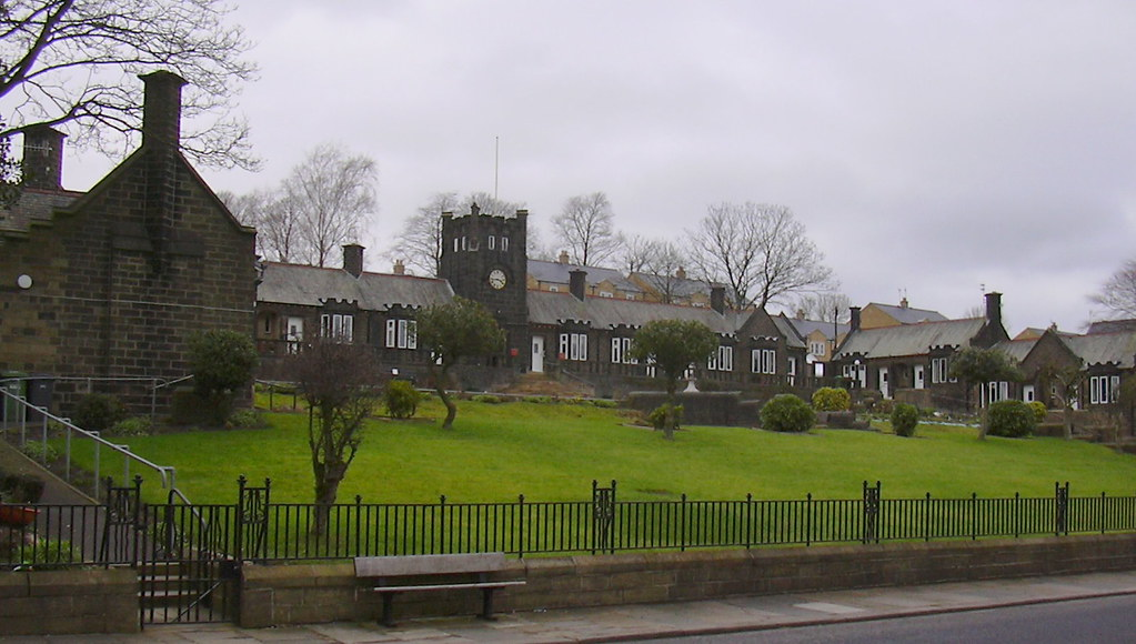"""""""Hartley Homes"""" (Almshouses) Keighley Road, Colne, Lancash ..."""