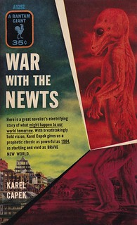 Karel Capek - War With The Newts (Bantam A1292) | by vintagepaperbacks