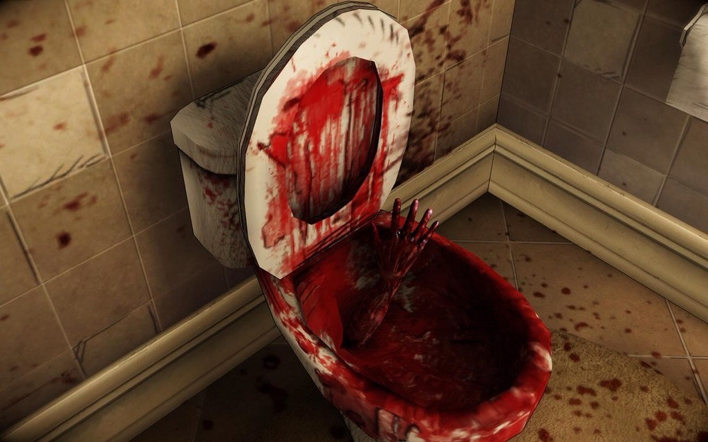 Bloody Toilet I Dont Think You D Like To See This When