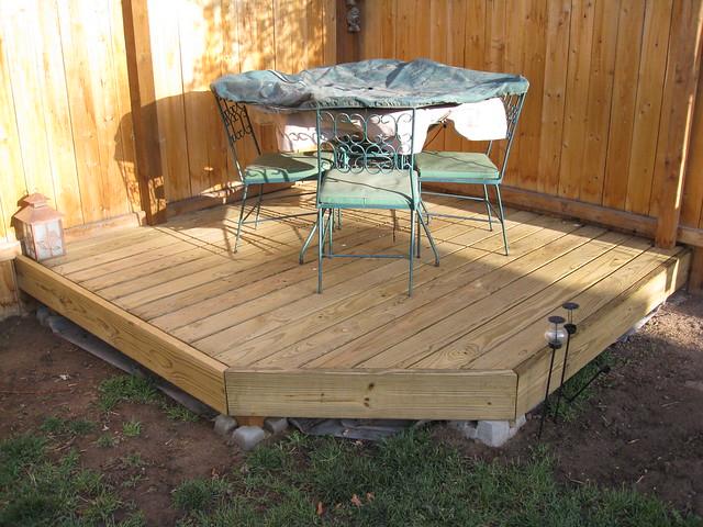 Corner dining deck Flickr Photo Sharing
